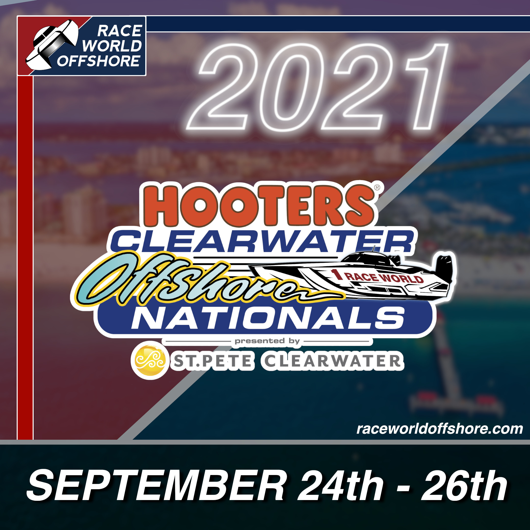 Join Us at Clearwater Offshore Nationals!